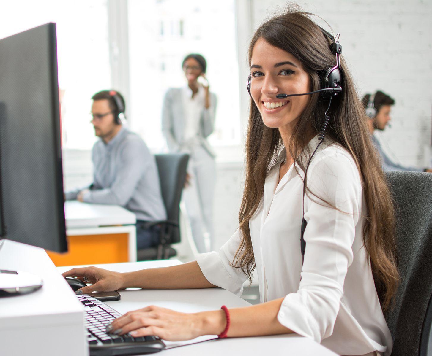 customer call center