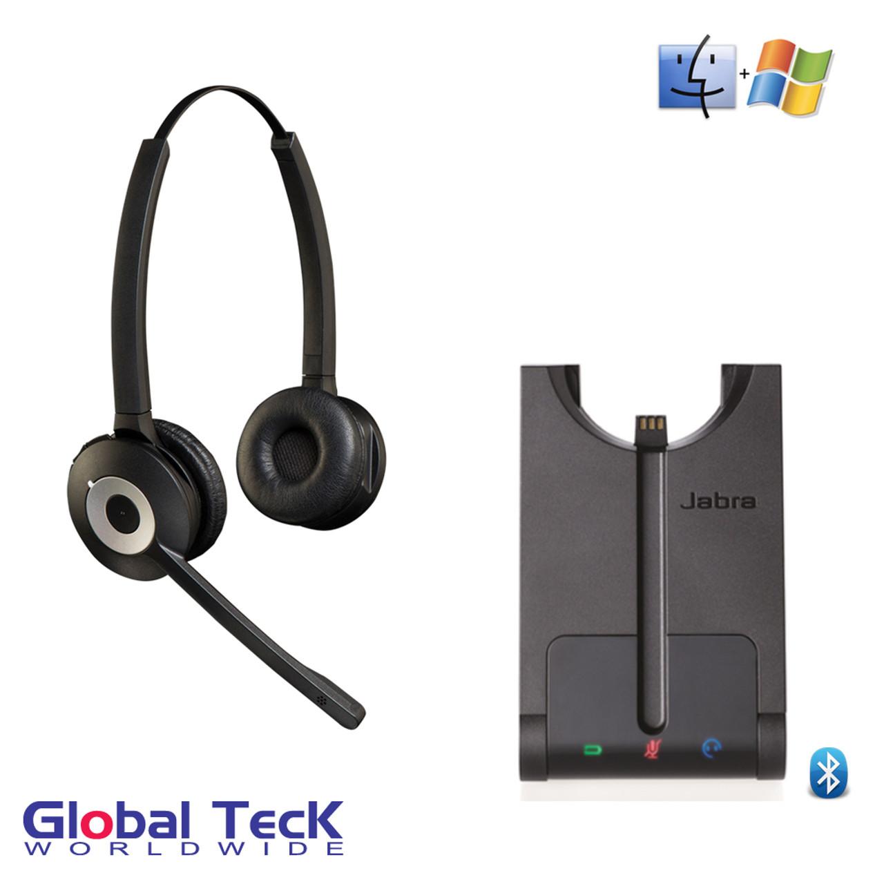 Jabra Pro Duo 935 Wireless Bluetooth Headset System 930 69 503 105