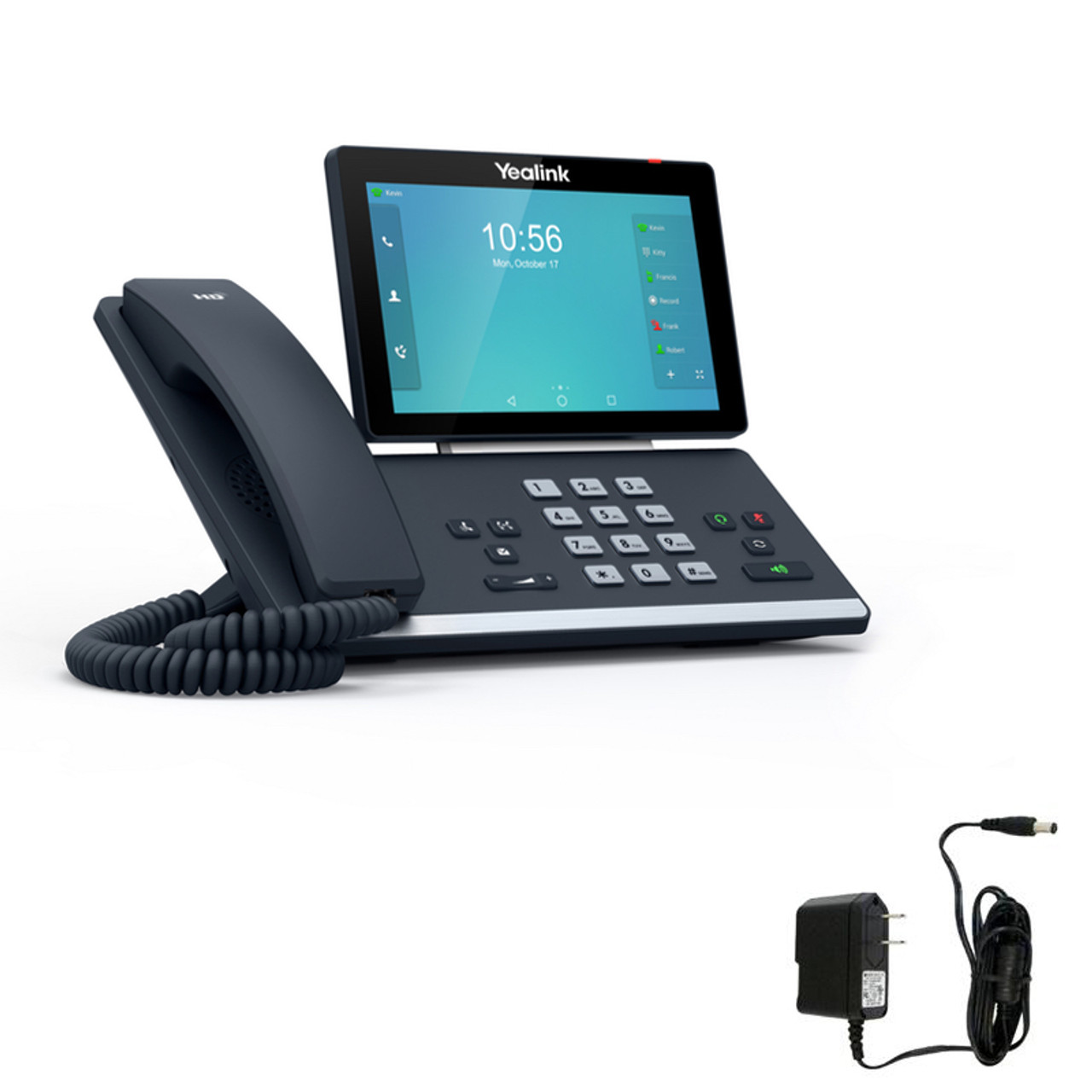 Yealink T58A Video Collaboration Phone With Power Supply | Skype for  Business Version | #SIP-T58A-SFB
