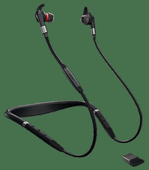 Jabra Evolve 75e Bluetooth Headset Usb Bundle Voip Communications Includes Bonus Charger Uc
