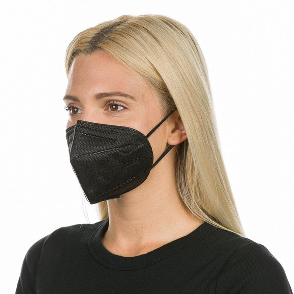 BLACK KN95 FACE MASKS (NON-MEDICAL)