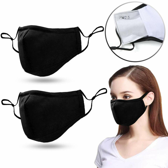 Cotton Mask (4 layer )Heavy-Duty (NEW)