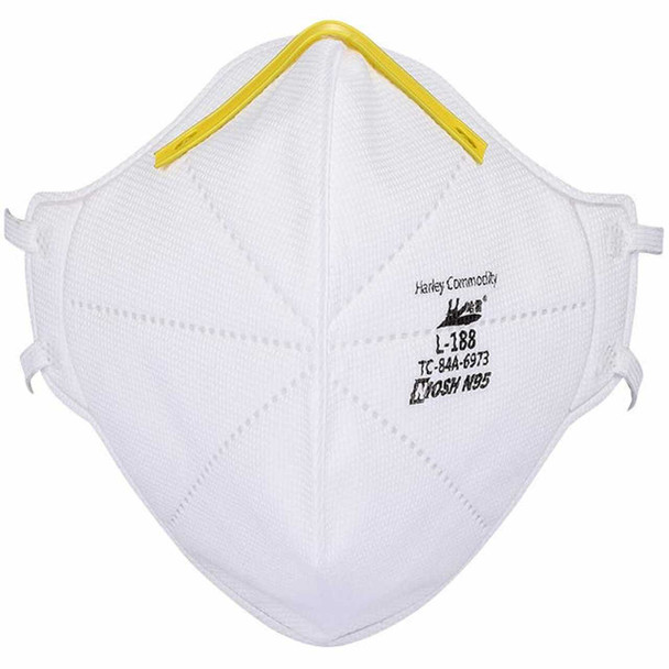 Harley N95 Mask Particulate Respirator L-188 - NIOSH Approved