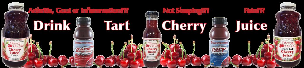 Cherry De-Lite Tart Cherry Juice