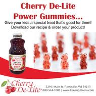 Tart Cherry Power Gummies