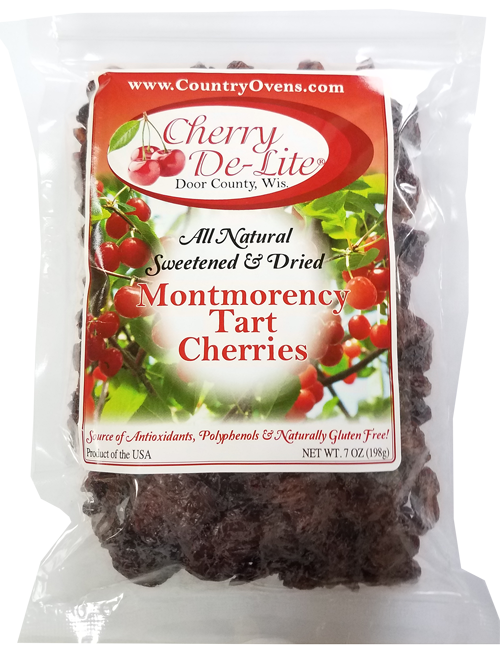 Cherry De-Lite Dried Tart Cherries - 7 oz  (CASE of 12)