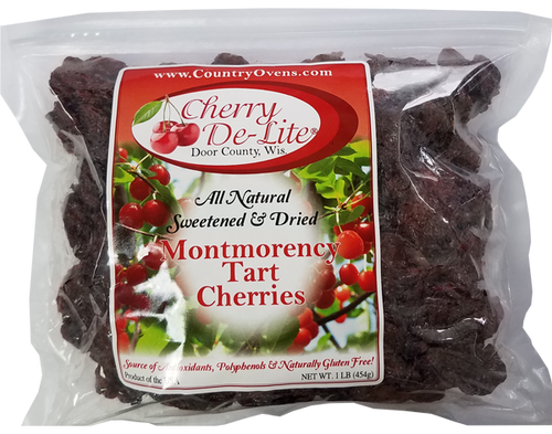Cherry De-Lite Dried Tart Cherries - 1 lb