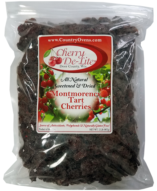 Cherry De-Lite Dried Tart Cherries - 2 lb (CASE of 5)