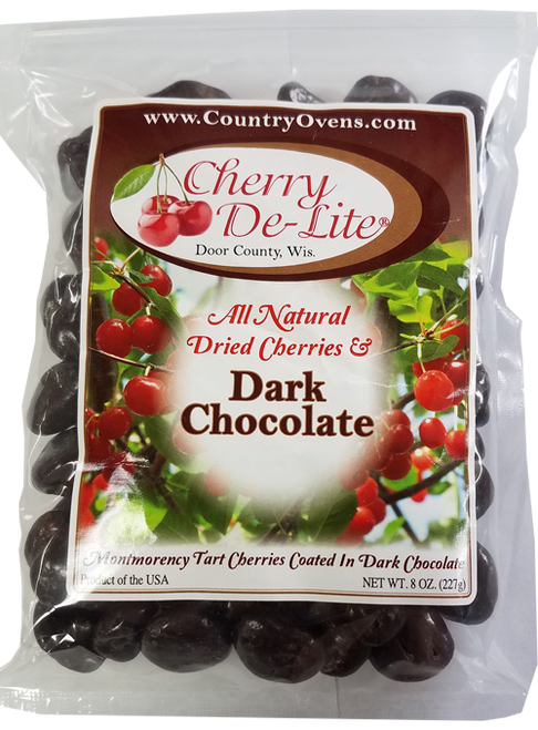 Dark Chocolate Covered Cherry De-Lite Tart Cherries - 8 oz