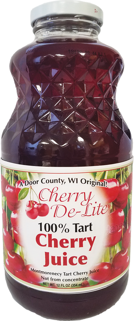 100% Cherry Juice - 32 oz (CASE of 12)