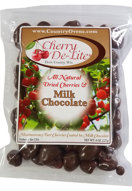 Milk Chocolate Covered Cherry De-Lite - 8 oz