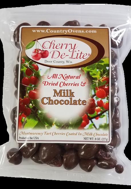 Milk Chocolate Covered Cherry De-Lite - 8 oz (CASE of 12)
