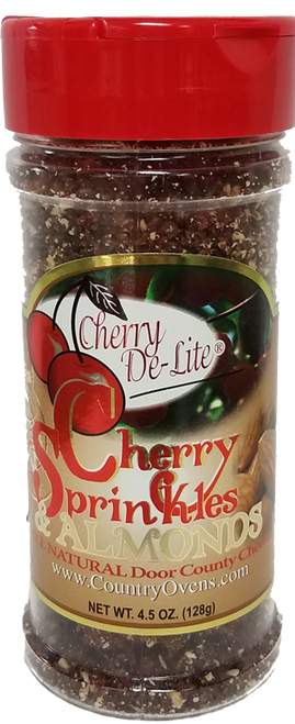 Cherry De-Lite Sprinkles with Almonds (CASE of 6)