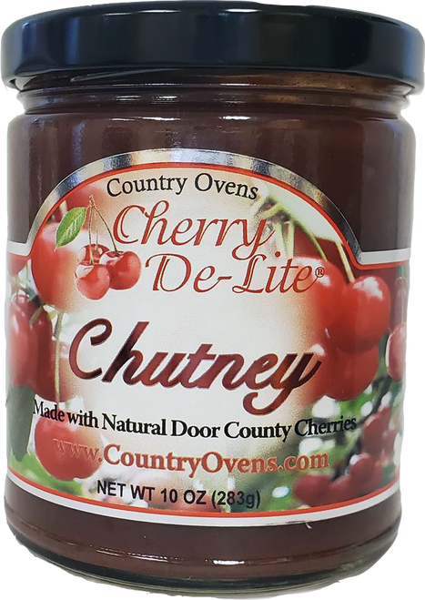tart cherry chutney fruit relish made by Cherry De-Lite in Door County Wisconsin