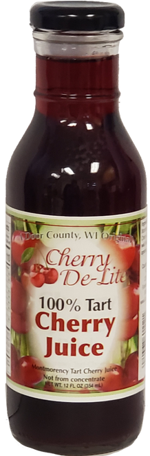 12 oz 100% Tart Cherry Juice - Case of 12