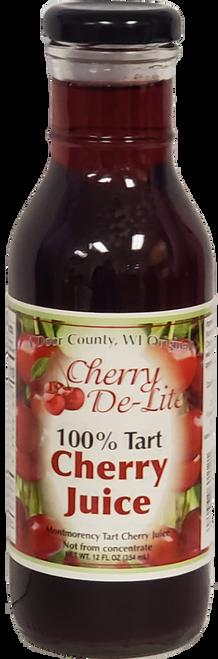 12 oz 100% Tart Cherry Juice - Case of 12