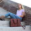 Exquisite everyday bag that can also be carried as high fashion