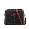 Lighter color straps make this purse a beauty