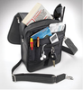 Six pockets organize all the stuff you have to carry in the concealed carry bag