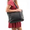 Large over the shoulder concealed carry handbag