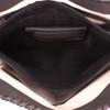 Very large concealment pocket secures a large frame pistol