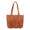 Stitching enhances the beauty of the bag