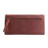 Dark mahogany is a very fine wallet color
