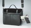 Schoolgirl Tote - Black Concealed Carry Purse