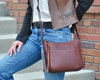Lovely leather makes this conceal and carry a standout