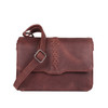 Lovely stitching accents this popular conceal purse