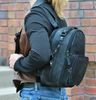 Concealed carry backpack perfect for school or office
