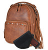 Bag comes with holster to secure your pistol in the concealed compartment