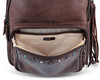 Sawyer Concealed Carry Leather Backpack