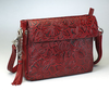 Beautiful leaf design for this purse brings the style to a very high level
