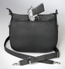 Concealed weapon access from top and side of this concealed carry bag