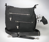 Zippered pockets for great concealed carry handbag organization