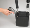 Immediate access to your concealed carry weapon with this small crossbody purse