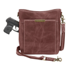 Beautiful Distressed Leather Over the Shoulder bag