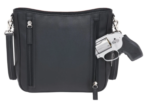 Zipper opens on both side for easy gun access