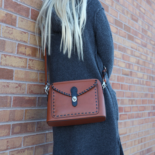 You will get raves with this purse and its accents