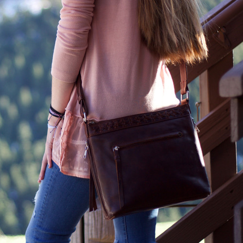You have great fashion sense when you carry the Faith Crossbody