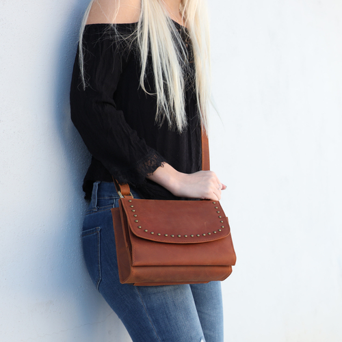 Smaller over the shoulder bag is extremely popular