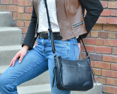 Perfect casual crossbody purse for everyday concealed carry