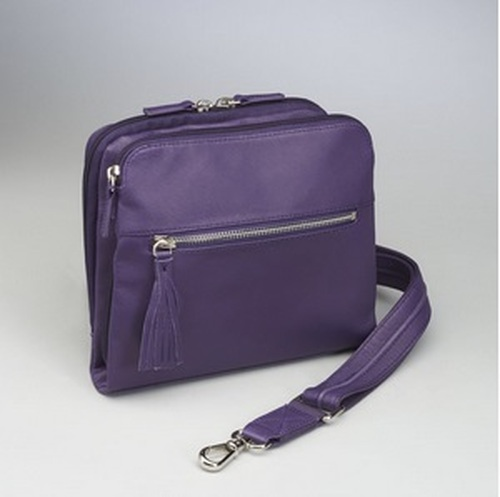 Long shoulder strap gives you adjustable length and crossbody wearing