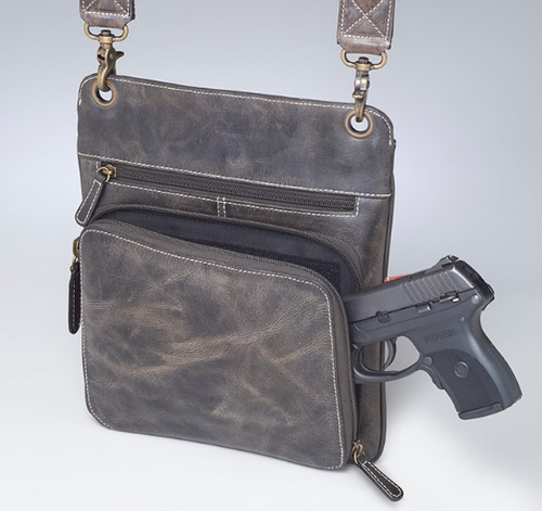 Draw your pistol from the top or either side of this bag quickly