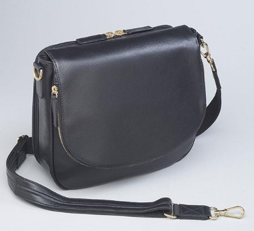 Large flap in front gives the conceal purse a rich design