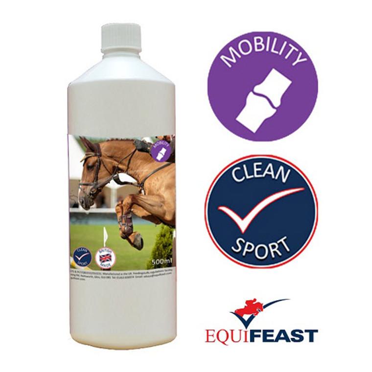 Liquid joint supplement for horses