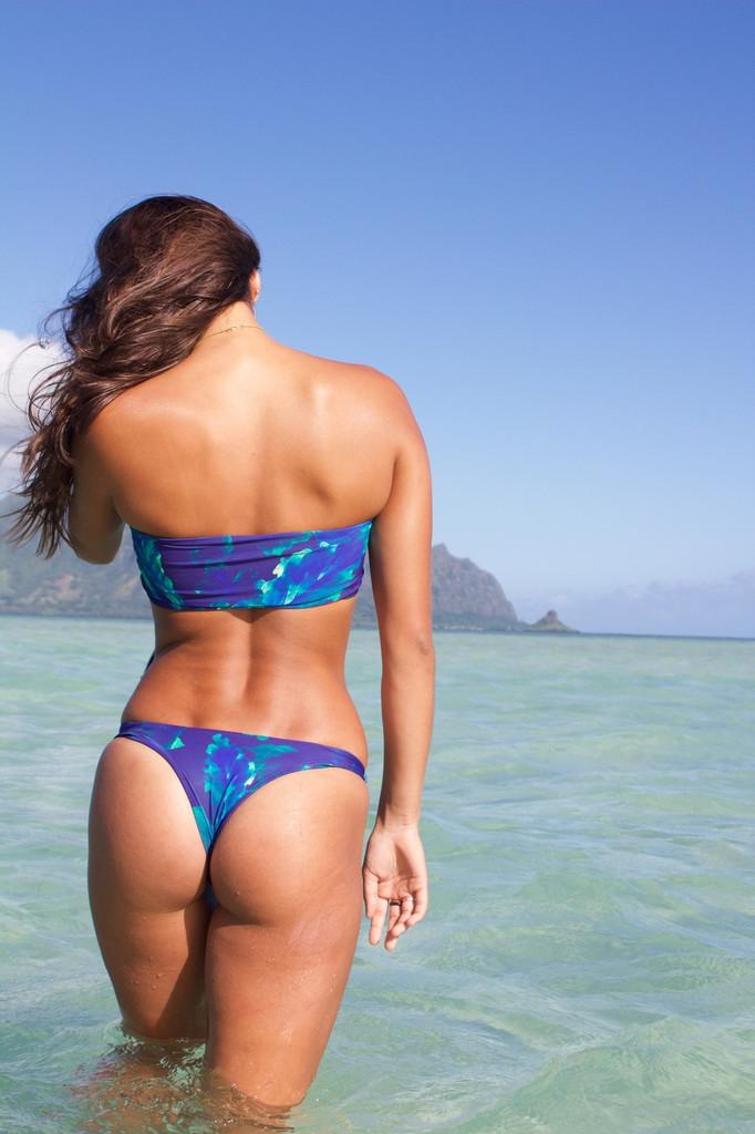 A KAIMANA REVERSIBLE SEXY CHEEKY BRAZILIAN BIKINI BOTTOMS Customize Size & Choose from 50+ Fabrics