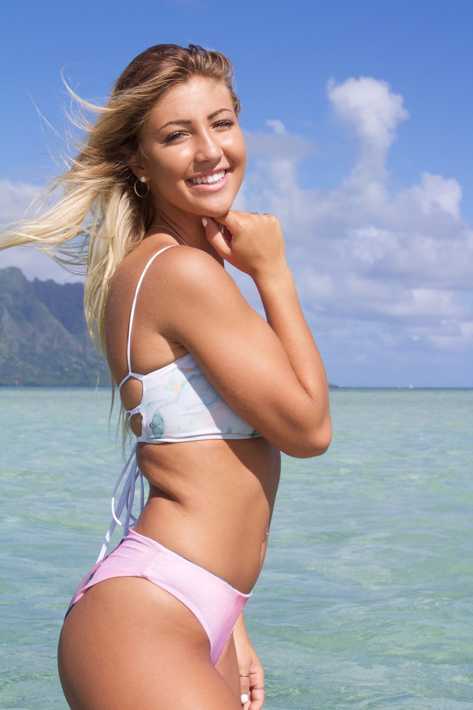 A Paia Reversible Moderate Coverage Bikini Bottom  Customize Size & Choose from 50+ Fabrics1