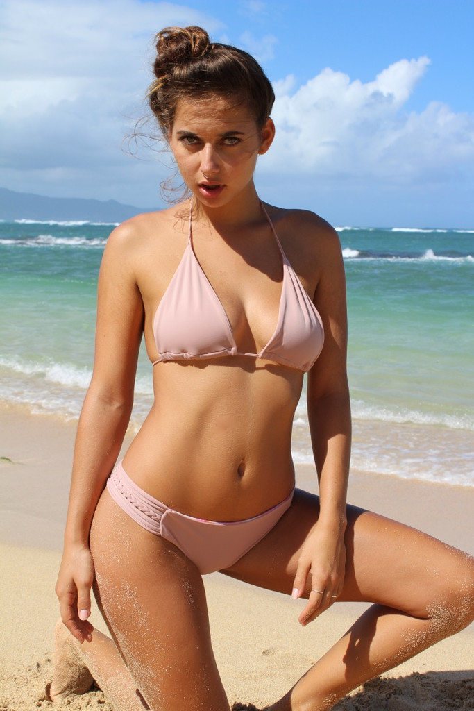 Reversible Cheeeky N Luluka Sizeamp; 50Fabrics4 Brazilian Bikini Strap From Style Choose Braid BottomsCustomize dWxCBero